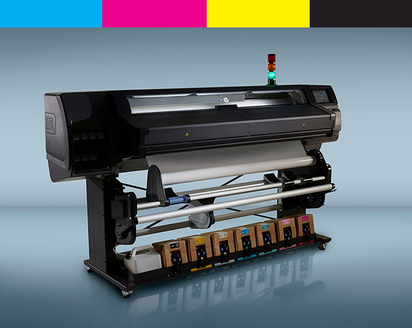 HP Latex 570 wide format printer